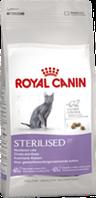Royal Canin STERILISED 0,4кг корм для стерилизованных кошек и котов  в возрасте от 1 до 7 лет.