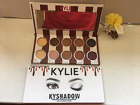 Набор теней Kylie Pressed Powder Eyeshadow (10 цветов)