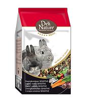 Корм для кроликов Deli Nature Rabbits Sensitive 5* menu 2,5 кг.