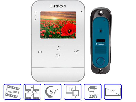 Комплект домофонной системы  Intercom IM-01 + Intercom IM-10 , фото 2