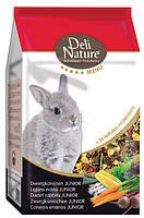 Корм для кроликов Deli Nature Rabbits Junior 5* menu 2,5 кг.