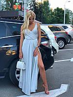 Платье вечернее длинное из люрекса, фото 1