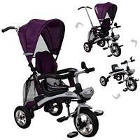 Велосипед - беговел M 3212A-8 фиолетовый
