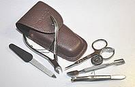 Маникюрный набор ZINGER Original Z-5-S-SF (5 предметов:2 ножн,пилка,пинцет,шабер)