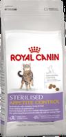 Royal Canin STERILISED APP.CONTROL 0,4кг  для стерилизованных кошек от 1 года которые выпрашивают еду