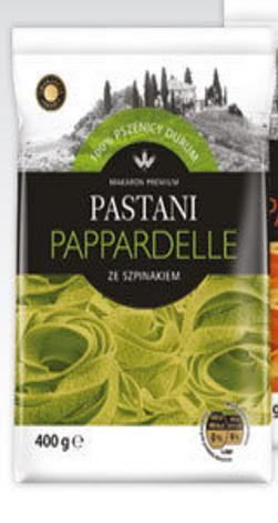 Макаронные изделия Pastani Pappardelle со шпинатом 400г, фото 2