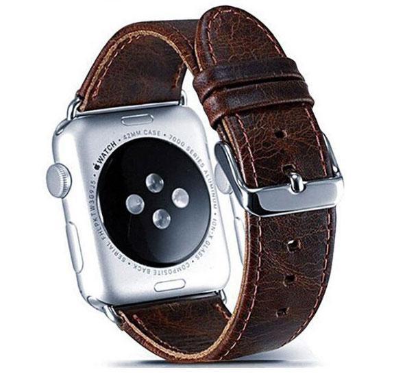 Кожаный ремешок Primo для Apple Watch 42mm / 44mm - Dark Brown