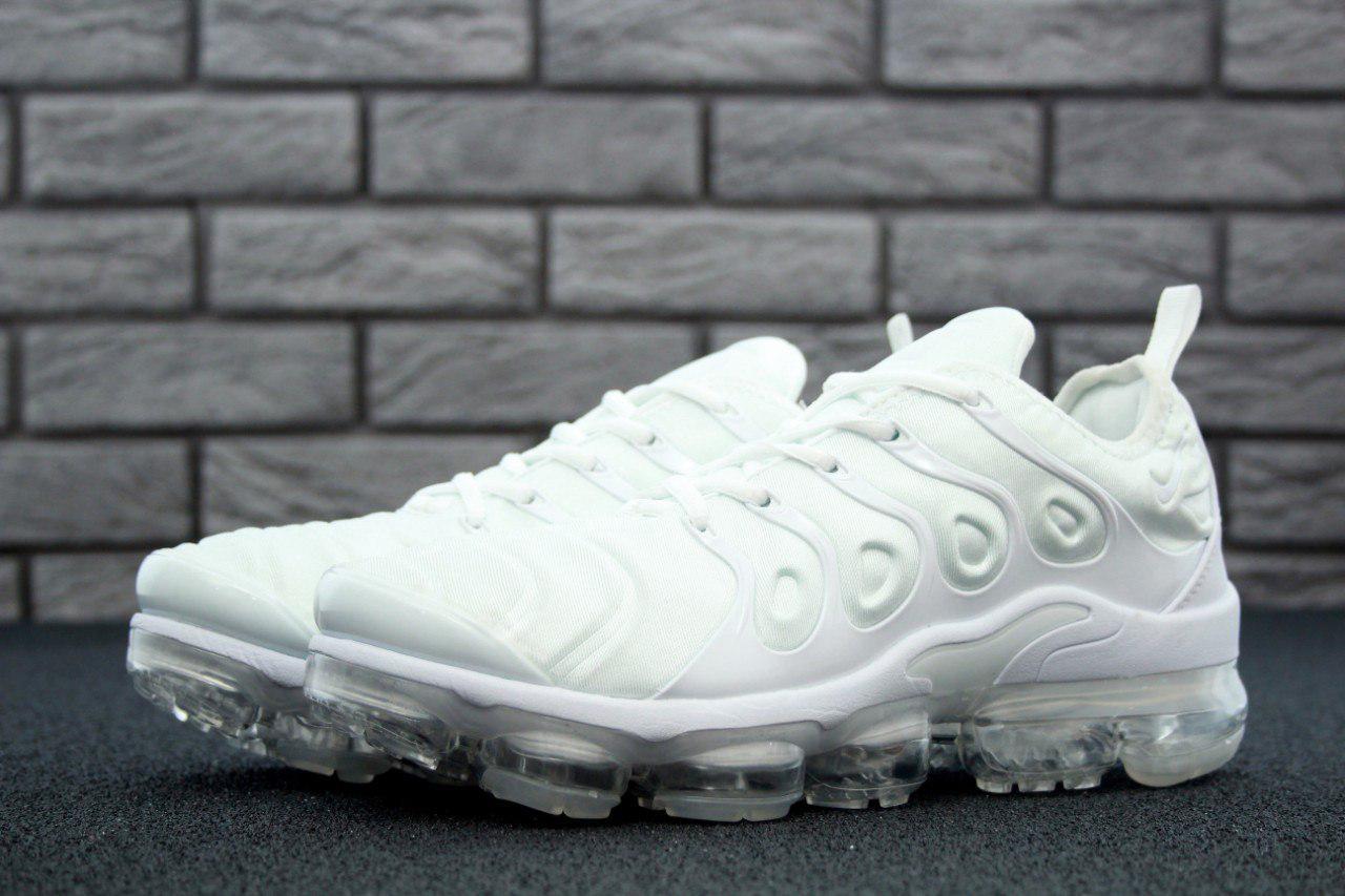 Мужские кроссовки Nike Air VaporMax (белые), ТОП-реплика