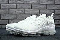 Мужские кроссовки Nike Air VaporMax (белые), ТОП-реплика, фото 1