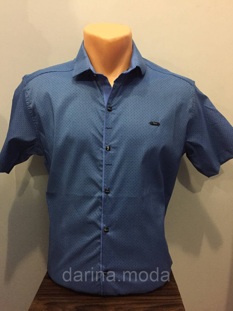 Рубашка с коротким рукавом для мужчины