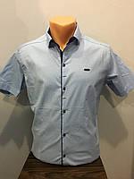 Рубашка на кнопках для мужчины S,М,L