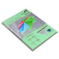 Папір кольоровий 160г/м, А4 100арк. SPECTRA COLOR IT 130 Lagoon (Пастельний світло-зелений)