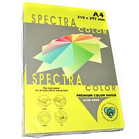 Папір кольоровий 80г/м, А4 100арк. SPECTRA COLOR IT 363 Cyber HP Yellow (Неоновий жовтий)