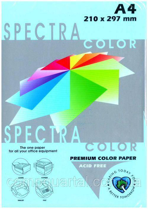 Папір кольоровий 80г/м, А4 100арк. SPECTRA COLOR IT 120 Ocean (Пастельний блакитний)