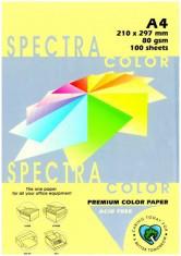 Папір кольоровий 80г/м, А4 100арк. SPECTRA COLOR IT 160 Yellow (Пастельний жовтий)