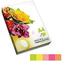 Папір кольоровий 80г/м, А4 SPECTRA COLOR Rainbow Pack Light IT 82T 5кол./50шт./250арк. (Пастельний)
