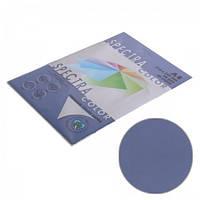 Папір кольоровий 80г/м, А4 100арк. SPECTRA COLOR IT 421 Cobalt (Інтенсивний темно синій), фото 1