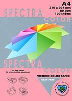 Папір кольоровий 80г/м, А4 100арк. SPECTRA COLOR IT 342 Cyber HP Pink (Неоновий рожевий), фото 1