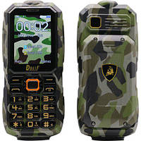 Защитный мобильный телефон Dbeif F9 (Land Rover)  2 сим,1,77 дюйма,3800 мА\ч.