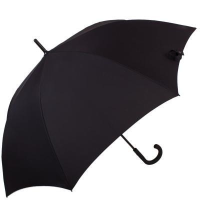 Противоштормовой зонт-трость мужской полуавтомат с большим куполом FULTON (ФУЛТОН) FULG844-Black