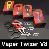 Керамический многофункциональный пинцет для эектронных сигарет - Vaper Twizer V8