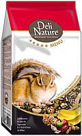 Корм для белок/бурундуков Deli Nature Squirrel 5* menu  750 гр.