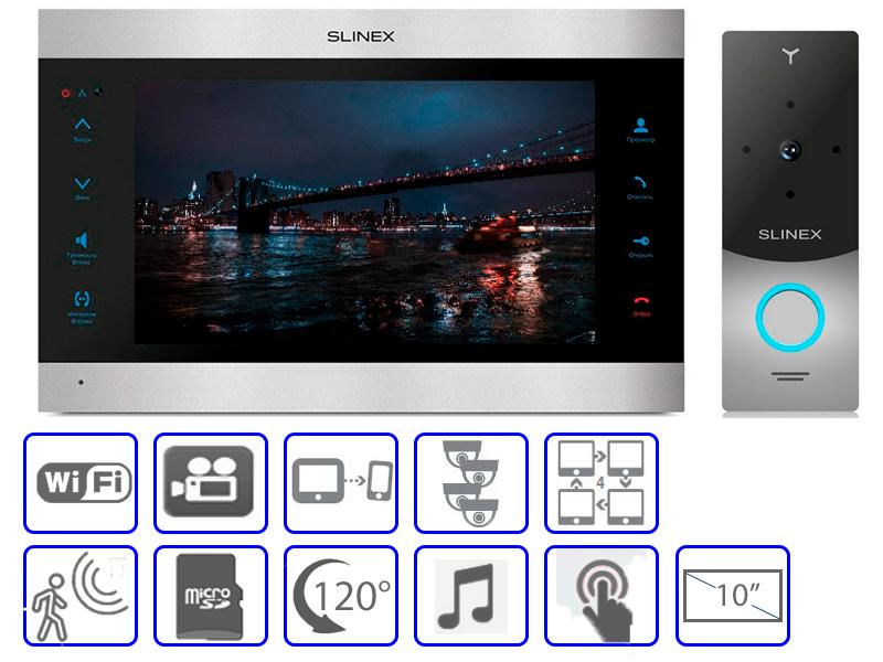 Комплект домофонной системы Slinex SL-10IPT + Slinex ML-20CR