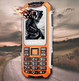 Телефон Vkworld Stone V3S  (оранжевый) ПРОТИВОУДАРНЫЙ