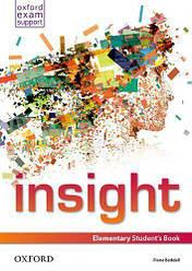 Insight Elementary Student's Book / Учебник