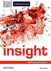 Рабочая тетрадь Insight Elementary Workbook with Online Practice