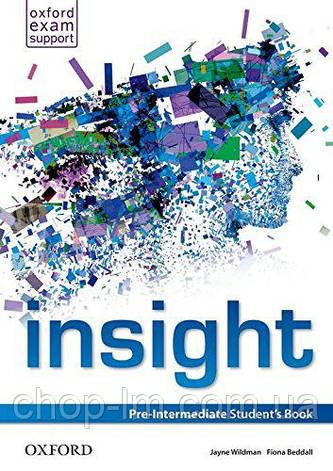 Insight Pre-Intermediate Student's Book / Учебник, фото 2