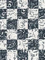 """Обои флизелиновые  """"Шахматные завитки"""" универсальные, черно-белые, 1 Х 10 – Синтра 809846"""
