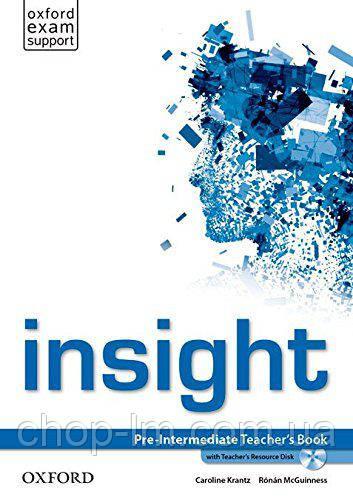 Книга для учителя Insight Pre-Intermediate Teacher's Book with Teacher's Resource Disk