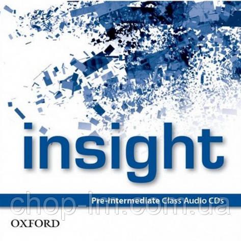 Аудио диск Insight Pre-Intermediate Class Audio CDs, фото 2