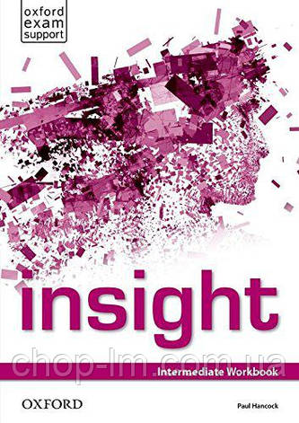 Рабочая тетрадь Insight Intermediate Workbook, фото 2