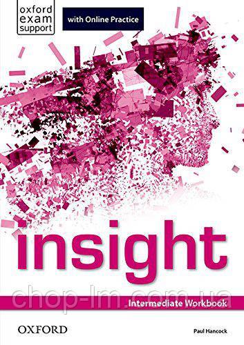 Рабочая тетрадь Insight Intermediate Workbook with Online Practice
