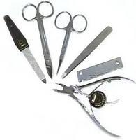 Маникюрный набор ZINGER Original мужской ZM-13-S (6 предметов:кус, 2 ножн,пилка,пинц,книп)