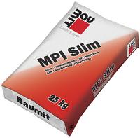 Тонкослойная штукатурная смесь Baumit MPI Slim White 25кг