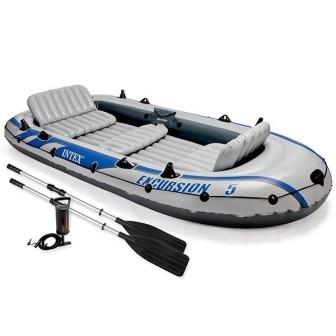 Надувная 5-ти местная лодка INTEX, 68325