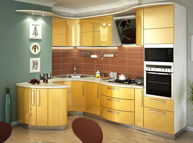 кухни с пленочными фасадами из мдф фото