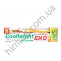 Зубная паста Coolbright ЭКО, 175г+зубная щетка