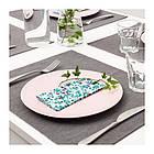 Набор бумажных салфеток IKEA TACKSAMHET 30 шт 33x33 см разноцветные с узором 603.820.96, фото 2