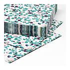 Набор бумажных салфеток IKEA TACKSAMHET 30 шт 33x33 см разноцветные с узором 603.820.96, фото 3