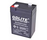 Аккумулятор батарея GDLITE 6V 4.0Ah GD-645, фото 1