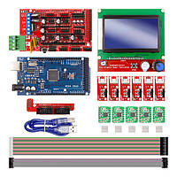 Набор для 3д принтера CNC станка 3D Printer Kit for Arduino RAMPS 1.4 Arduino Mega 2560 R3