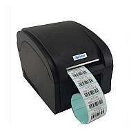 Термопринтер POS чековый принтер для чеков и этикеток XP-360B 80мм, фото 1