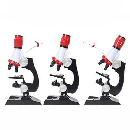 Детский микроскоп 2 в 1 с подсветкой 100-1200х C2121, фото 2