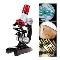 Детский микроскоп 2 в 1 с подсветкой 100-1200х C2121, фото 3