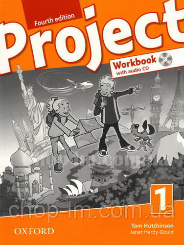 Робочий зошит Project Fourth Edition 1 Workbook with Audio CD and Practice Online