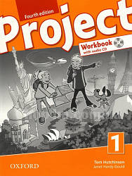 Рабочая тетрадь Project Fourth Edition 1 Workbook with Audio CD and Online Practice